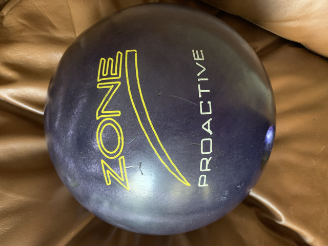 proactive bowling ball