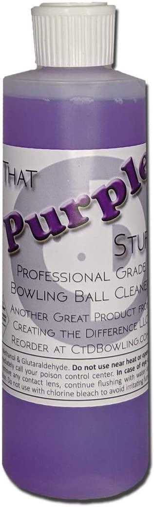 PURPLE STUFF BOWLING BALL CLEANER